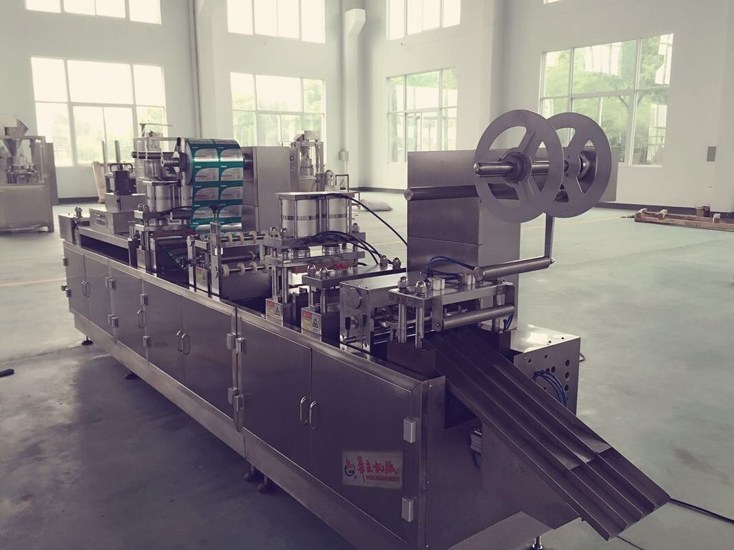 Pharmaceutical Automatic Tropical Blister Packing Machine For Soft Gel Capsule