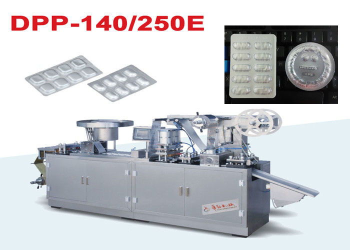Pharmaceutical Industry Automatic  Alu Alu Blister Packaging Machine With Cylinder supplier