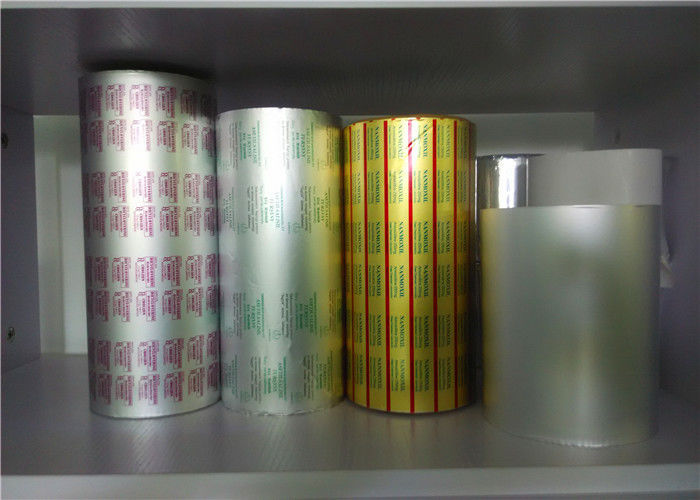 Lacquered Aluminum Foil Blister Packaging Materials For Medicine Sealing Package supplier