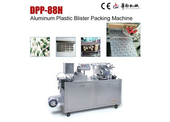 Pharmaceutical Mini Lab Blister Packaging Machinery DPP-88H PC Circuit Panel Control supplier