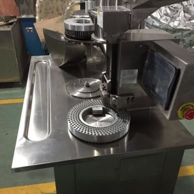 Easy Opearted Semi Auto Capsule Filling Machine Herb Capsule Filling Machinery supplier