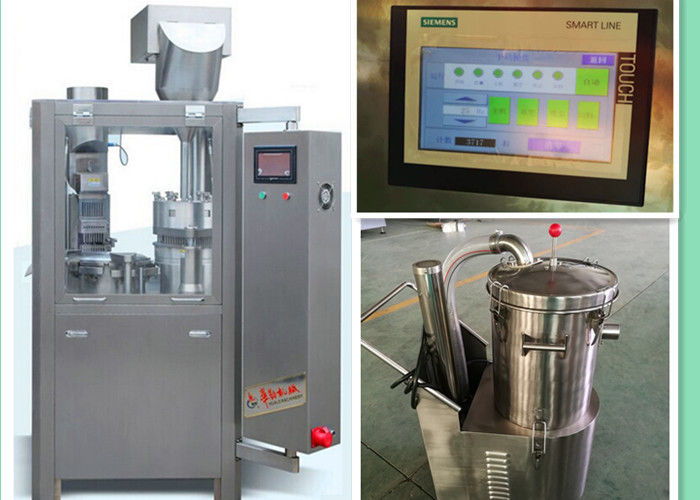 Fully Automaitc Muti- functional Capsule Filling Machine Powder Pellet Capsule Filler supplier