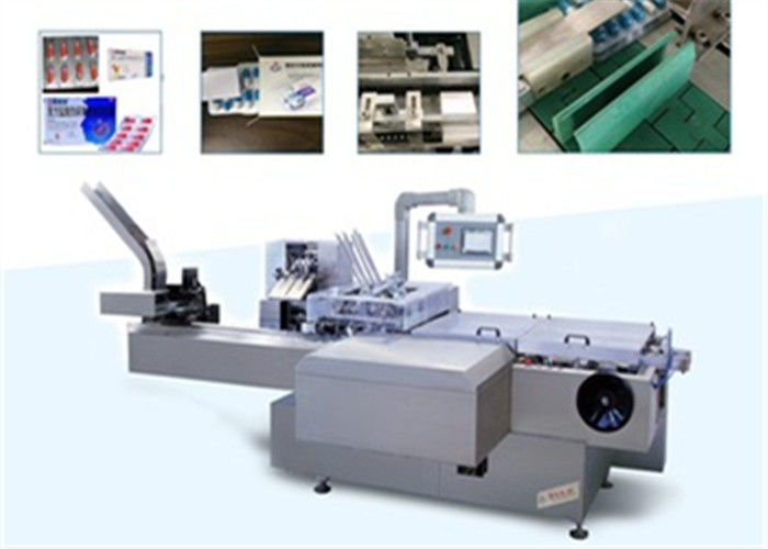Pharmaceutical Package Blister Cartoning Machine For Puch , Injection , Medicine supplier