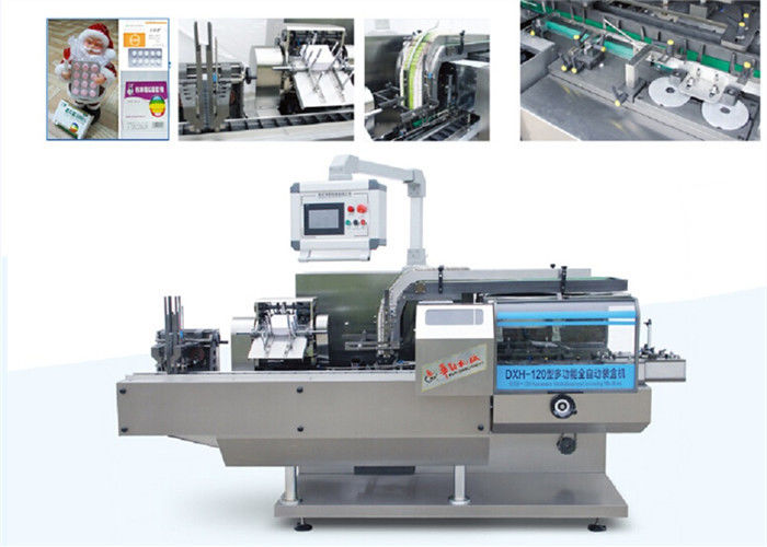 New ConditionPharmaceutical Automatic Blister Cartoning Machine With PLC supplier