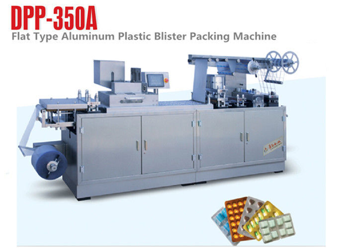 Packing materials saved Aluminum Pharmacy Blister Packaging Machine PRC System supplier