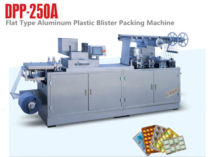 Servo Motor Alu Plastic Automatic Blister Packing Machine Tablet Blister Machine supplier