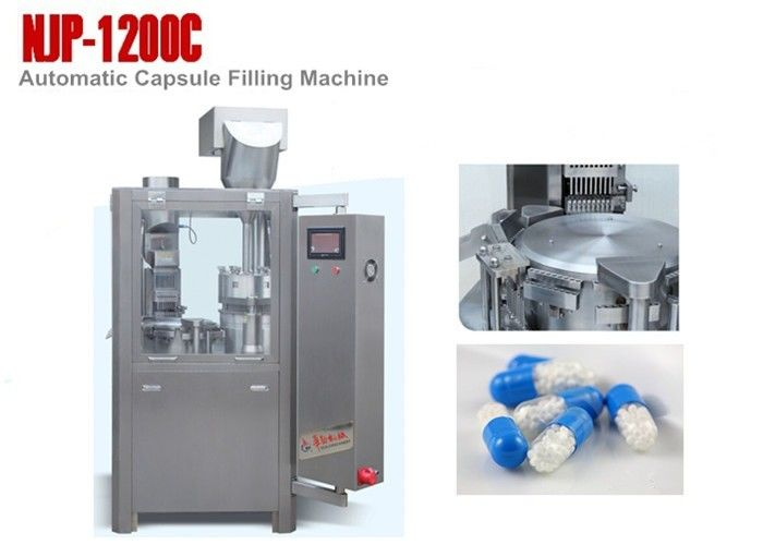 SS304 High Speed Automatic Capsule Filling Machine for Output 72000 Capsules Per Hour supplier