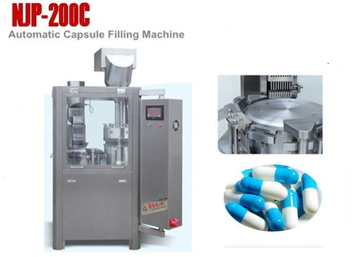 NJP-200C Small Automatic Capsule Filling Machine for Powder , 12000 Capsules / Hour supplier