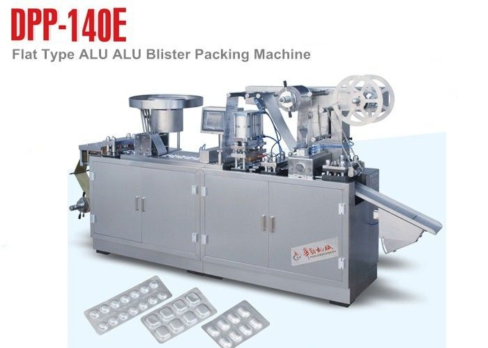 DPP-140E Small Alu Alu Blister Packing Machine for Health Care Products supplier