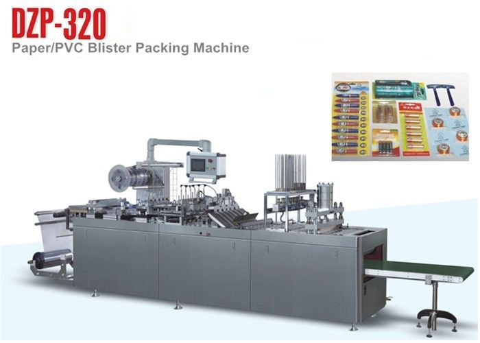 Shaver Paper Plastic Tablet Blister Packing Machine / Blistering Machine supplier