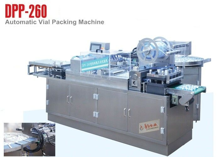 Cantilever Style Oral Liquid Blister Packaging Machinery for Vial filling,sealing package