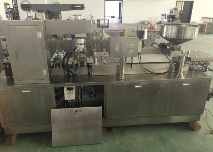 PLC Control Aluminum PVC Pharmaceutical Blister Packaging Machines supplier