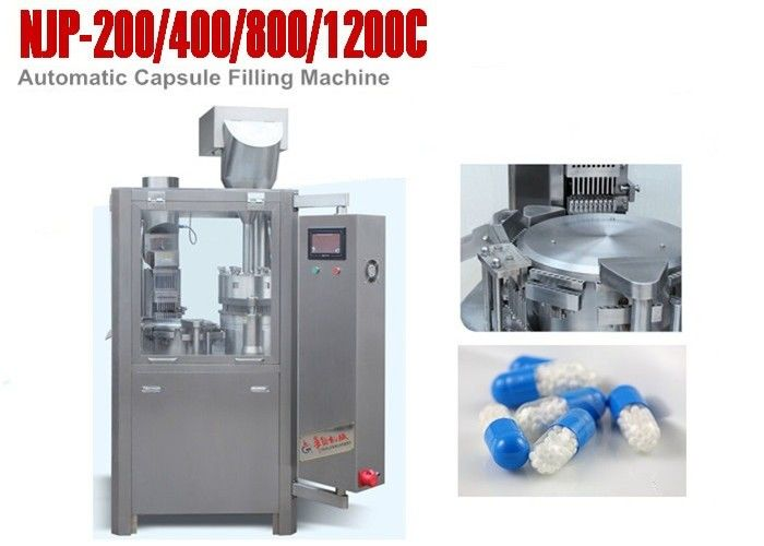 Oil Free Vacuum Pump Hard Capsule Filling Machines Fully Automatic Capsule Filler supplier
