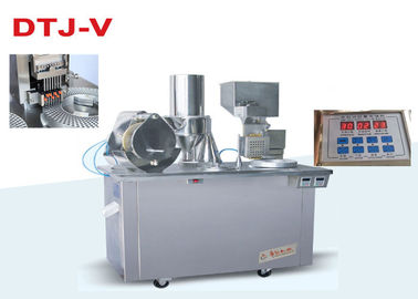 China CE Semi Auto Capsule Filling Machine Pharmaceutical Filling Equipment With Touch Panel distributor