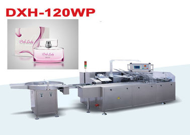 China Cosmetic bottle Box Packing Machine With PLC Control System China Manchine Manufacturer distributor