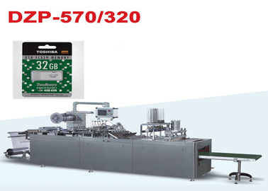 China DZP-320 Fully Auto Paper and PVC Blister Packing Machine for USB Flash Drive distributor