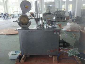China Touch Panel Semi Auto Capsule Filling Machine For Granule Pellet Powder 50HZ 2.1KW distributor