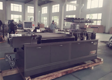 China Manual Feeding System Pharmaceutical Blister Packaging Machines PLC Control distributor
