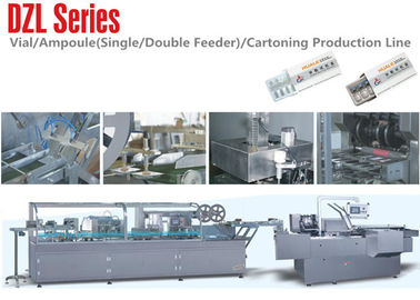 China Ampoul  Blister Packaging  Line Cartoning Packing line , Single or Double Feeder distributor