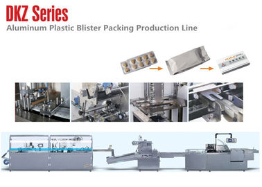 China DKZ-250A Aluminum Plastic Blister Carton Packaging Machine Line  380/220V 50HZ distributor