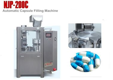 China NJP-200C Small Automatic Capsule Filling Machine for Powder , 12000 Capsules / Hour distributor