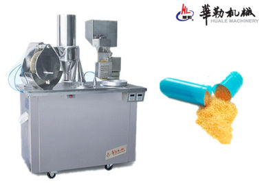 China Cheap  Semi Auto Capsule Filling Machine with qualified stainless steel 304 distributor