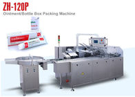 Ointment Box Auto Packing Machine for Cosmetic Package , 100 Boxes Per Min Output