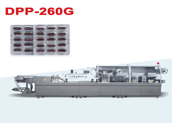Automatic Capsule High Speed Blister Packing Machine / Blister Pack Sealing Machine