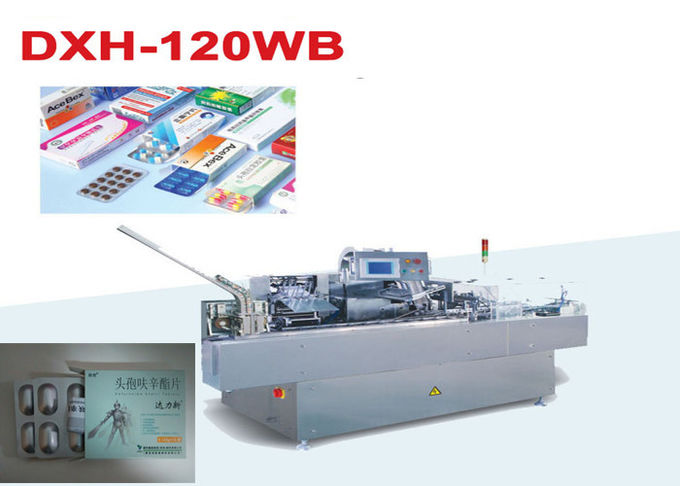 Carton Sealer Machine Automatic Cartoning Machine For Blister Plate
