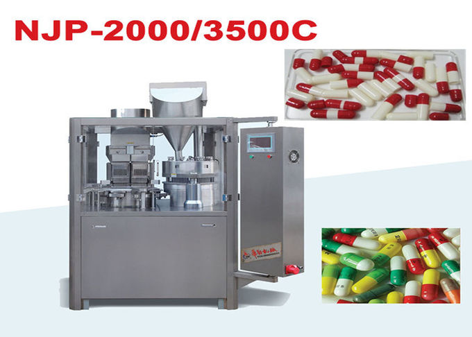 High Speed Automatic Capsule Filling Equipment With High Output Machine
