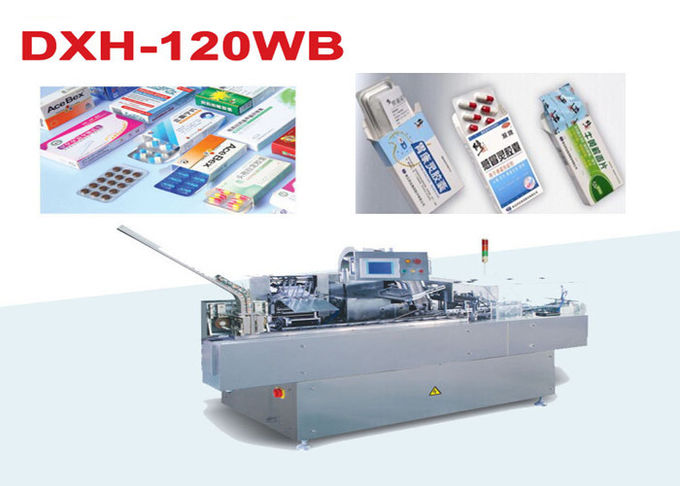 Pharmaceutical  Automatic Blister Cartoning Machine with adjustable speed