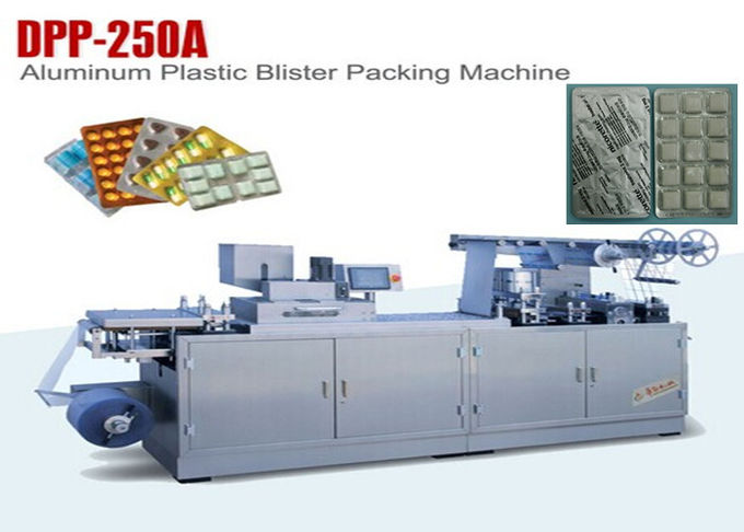 Tablet Package Step Motor Automatic Blister Packing Machine Output 45 Cutting Per Min 0