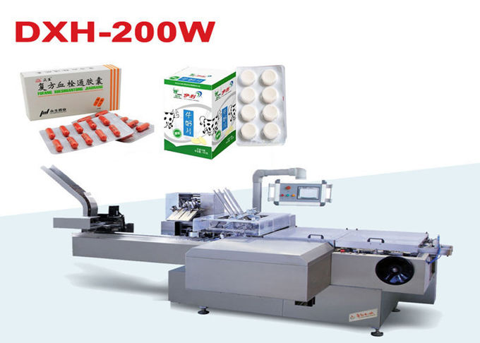 High Speed Automatic Carton Packing Machine For Pharmaceutical And Health Care Industry
