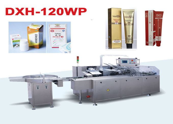 High Speed Auto Cartoning Machine Cosmetic Packaging Machine 380V 50HZ