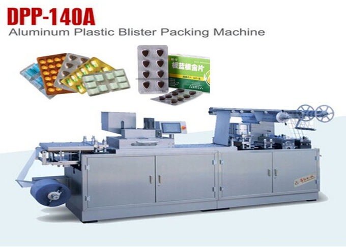 Small Capsule ALU PVC Blister Packaging Equipment Blistering Machine