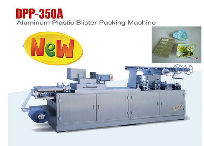 Auto Blistering Machine Automatic Blister Packing Machine With PLC Controller