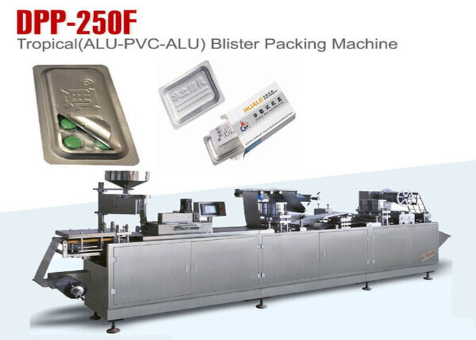 High Sealable Alu PVC Alu Automatic Tropical Blister Sealing Machine Servo Motor