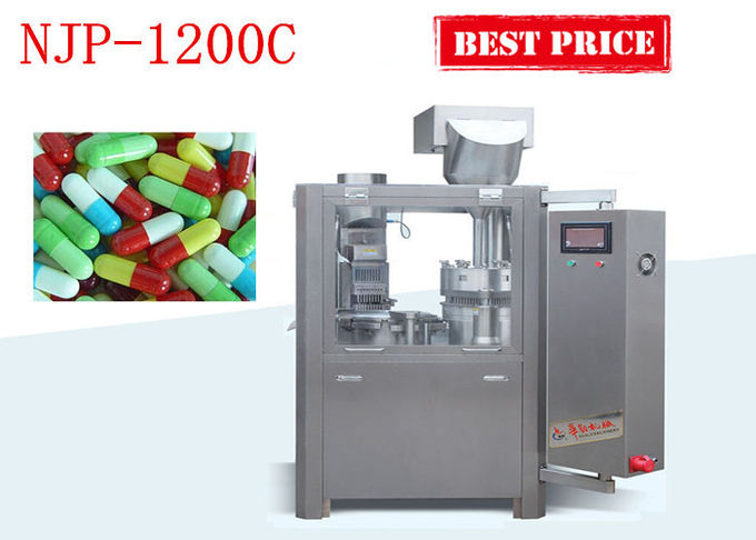 Fully Automaitc Muti- functional Capsule Filling Machine Powder Pellet Capsule Filler