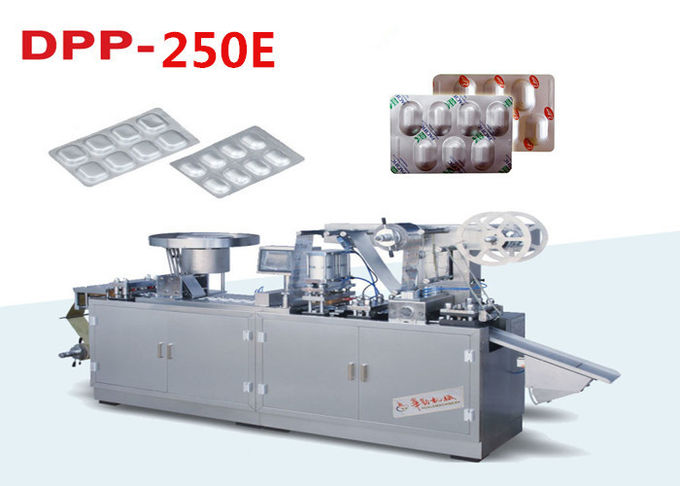 High Output Stainless Steel Automatic Blister Packing Machine with Shaking Feeder 2