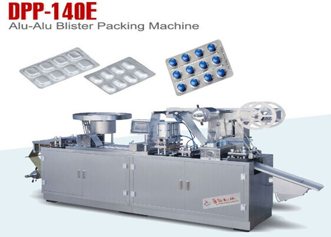 Pill Capsule Tablet Pharmaceutical Blister Packaging Machines With 30 Cuttings Per Minute