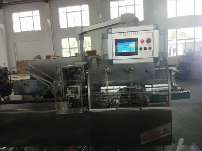 Blister Plates Automatic Cartoning Machine / Small Object Filling And Sealing Equipment