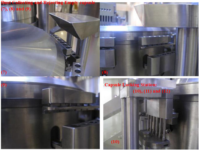 NJP 800C Auto Gelatin Capsule Filling Machine / Capsule Filler Machine