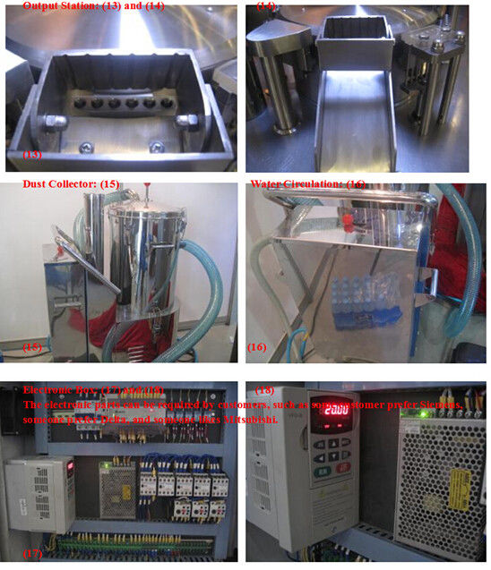 Full Automatic Hard size 0 Capsule Filling Machine China Manufacturer Price