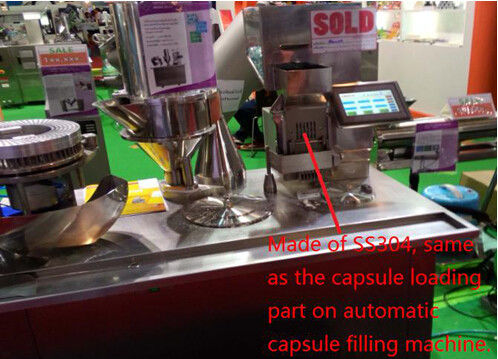 380V 50Hz Semi Auto Capsule Filling Machine Small Pharmacy Filling Machinery
