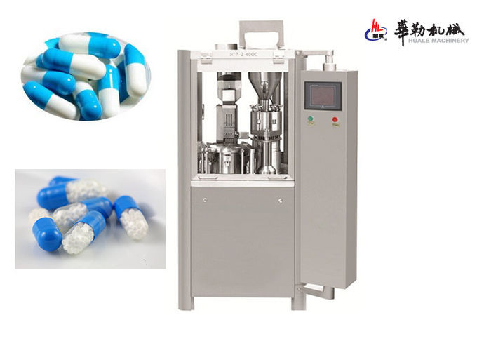 Automatic Capsule Filler Pharmaceutical Filling Equipment CE Certification