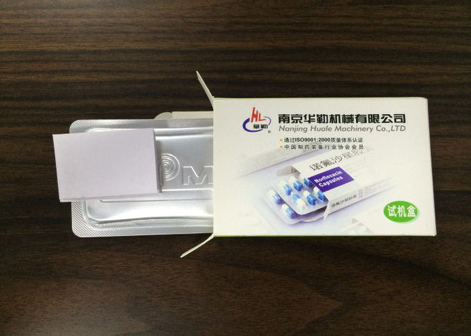 High Sealed Tropical Blister Packing Line for Generic Medical Blister Packaging