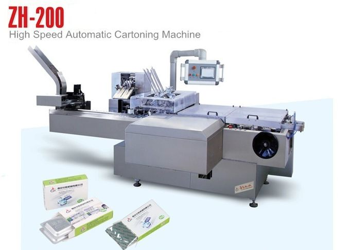 Widely Used Automatic Cartoning Machine  for large box ( L220mm*W100mm*H70mm)